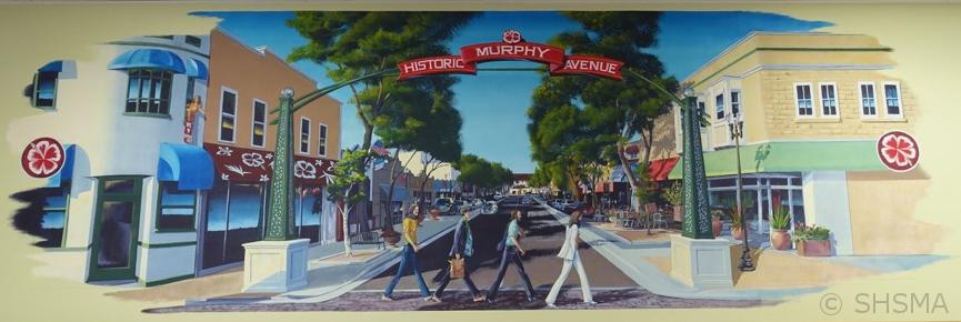 Trader Joe Mural, Murphy Avenue