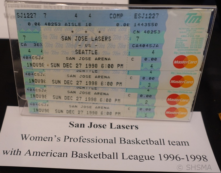 San Jose Lasers Women's Professional Basketball Tickets