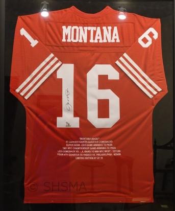 Joe Montana's shirt