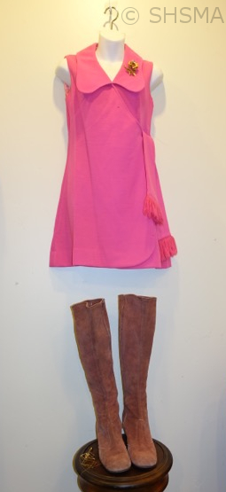 1960's dress and boots