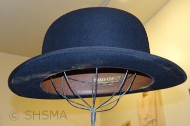 Man's Derby/Bowler hat, circa 1930's