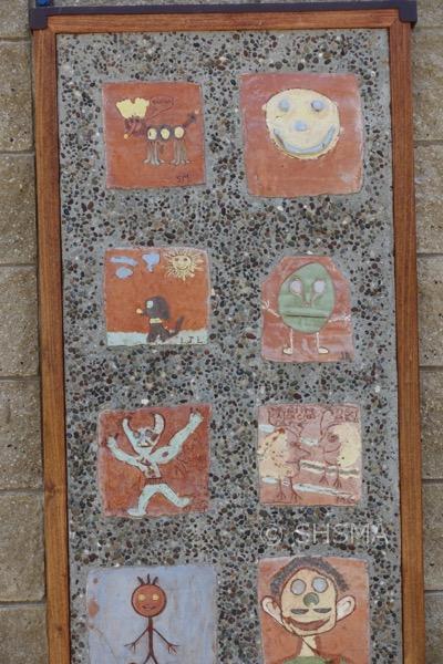 Garden Tile Mural 1