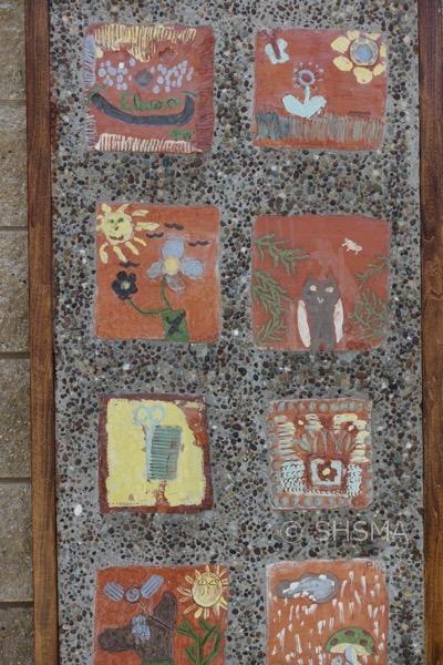 Garden Tile Mural 2