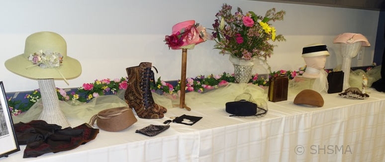accessories on display