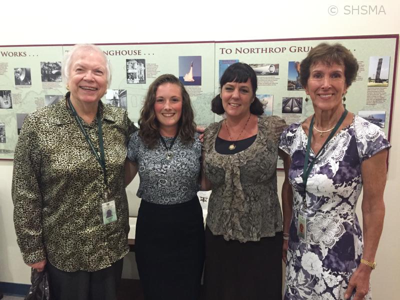 Leslie Lawton, Erika Blair, Linda Taaffe and Flo Stafford after the meeting