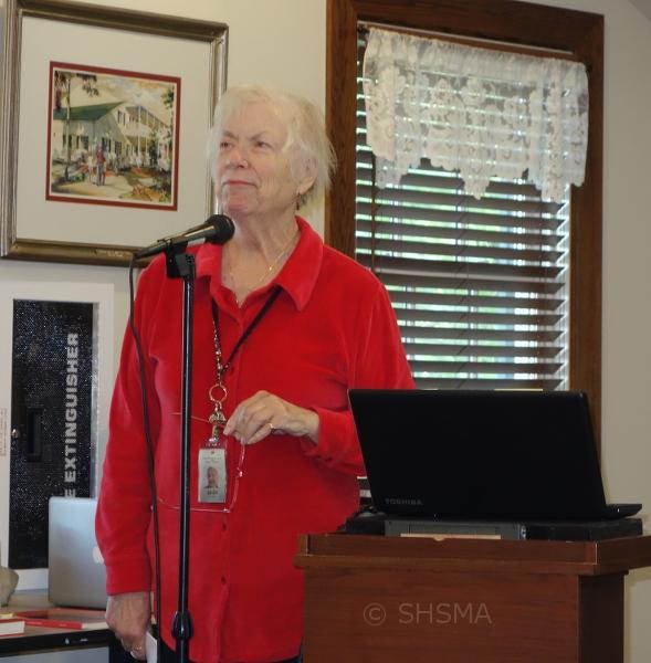 Leslie Lawton, outgoing president