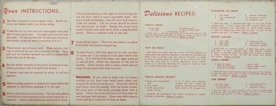 Dixie Belle Instructions Side 2