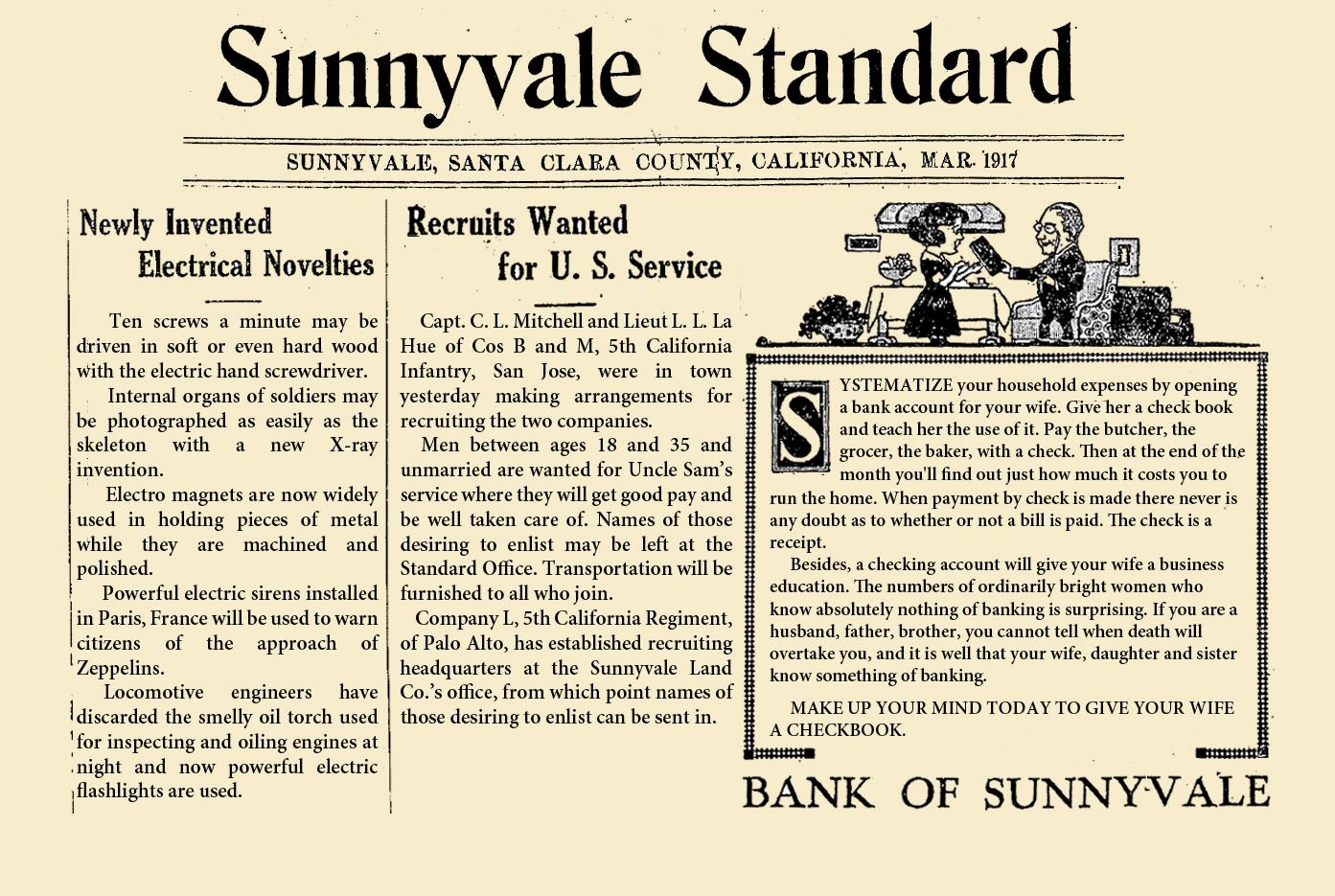 100 years ago – Mar 1917