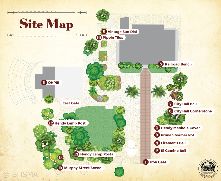 Site Map New Entrance