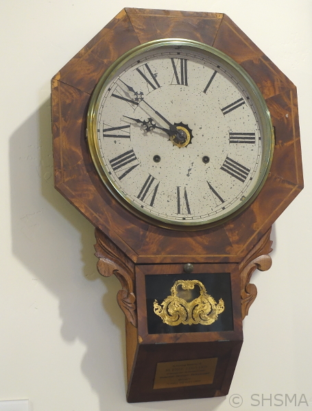 Wall Clock near the back door