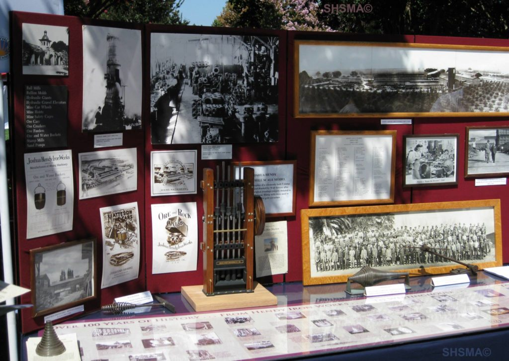 Joshua Hendy Iron Works display