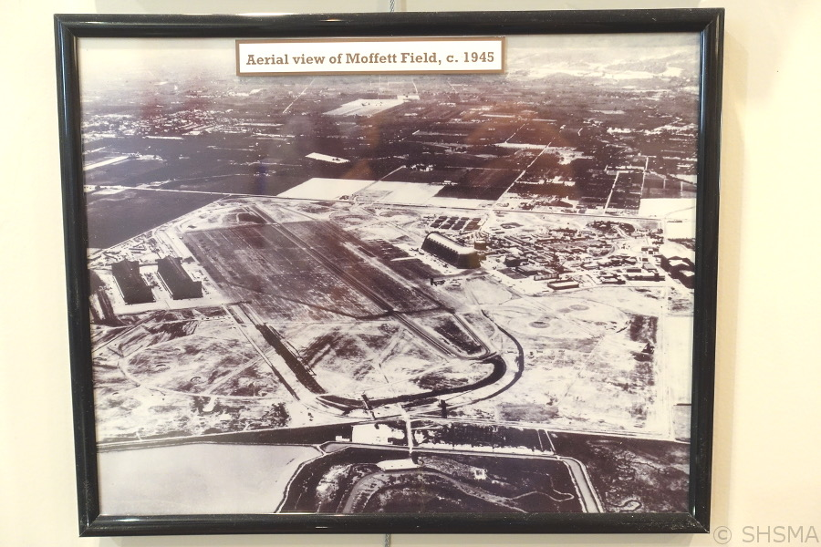 Moffett Field 1945
