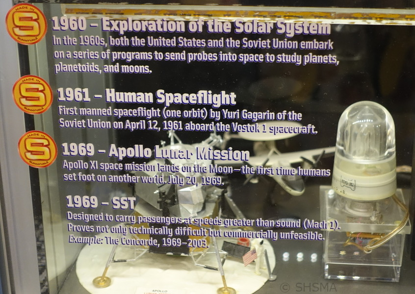 Timeline space exhibit