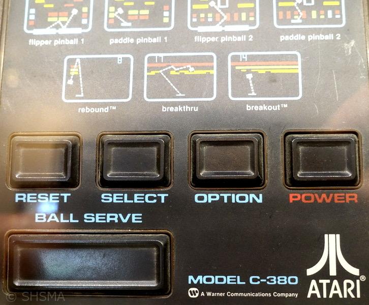 Atari C380 Video Pinball