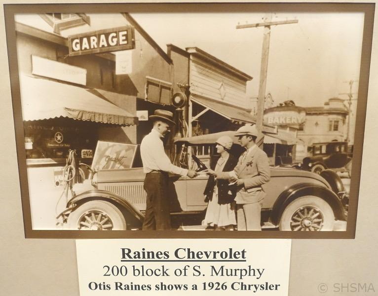 Raines Chevrolet 1926
