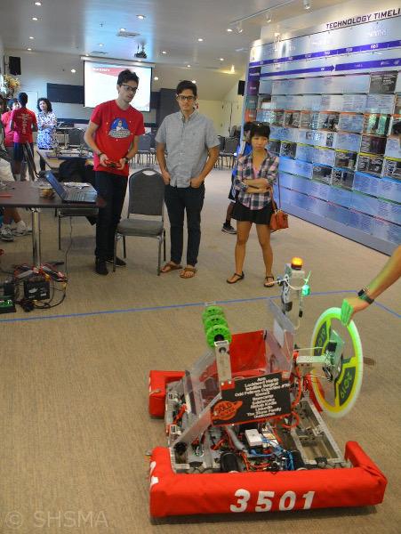 Robotics demonstration