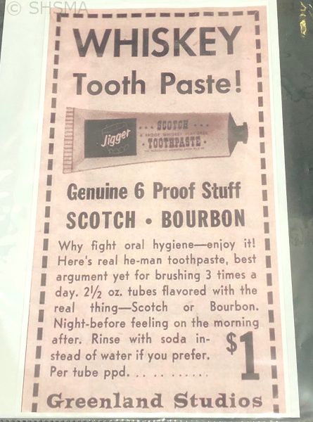 Whiskey Tooth Paste