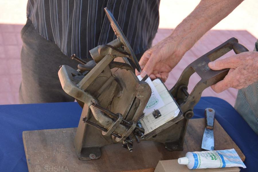 Printing demonstration
