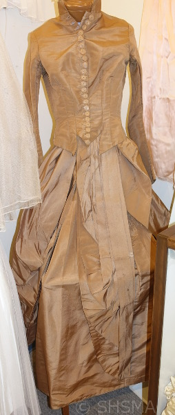 1860s wedding dress