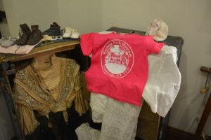 souvenir tee shirt on display