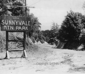 Entrance to Sunnyvale Mountain Park